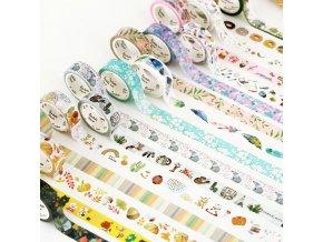 Washi pásky / dekorativní pásky DIY