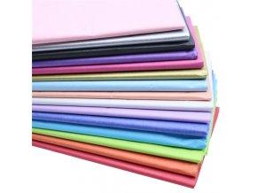 10 ks krepový papír / hedvábný papír DIY