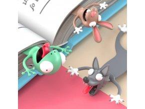 Záložky / zvířátkové záložky do knih