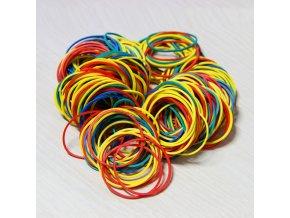 100 ks kulaté gumičky / multifunkční gumičky COLOURS