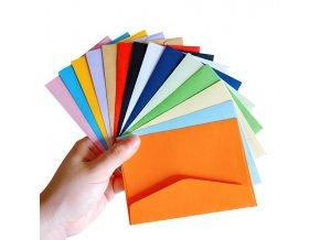 10 ks obálky / barevné obálky LADY