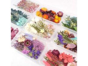 Set dekorativních umělých květin FLOWER