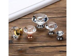 Nábytkové úchytky a madla Diamond