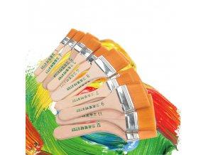 Malířské nástroje / malířské štětce Akryl