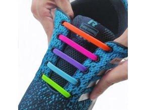 Silikonové tkaničky / elastické tkaničky do boty STYLE