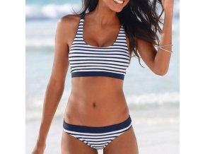 mainimage0New Sexy Striped Beach Bikinis Set Women Swimwear Push Up Swimsuit Female Bathing Suits Bikini Girls