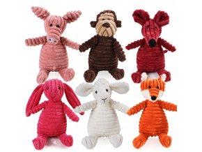 Plyšové hračky pro děti zvířátka ANIMAL