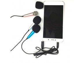 USB mikrofon k mobilnímu telefonu - 3,5 mm jack SING