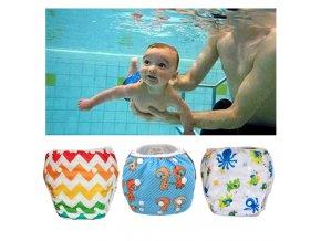 mainimage0Baby Swim Diapers Adjustable Swim Nappies Reusable washable swim pool pants 1 2 3 4 5