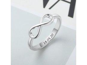 Prsten s gravírováním