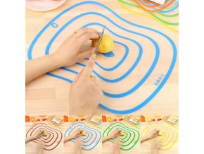 mainimage0Kitchen Plastic Cutting Board Non slip Frosted Kitchen Cutting Board Vegetable Meat Tools Kitchen Accessories Chopping
