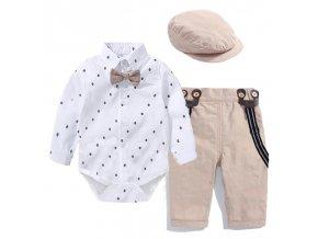 Dětské body s kalhotami SUIT