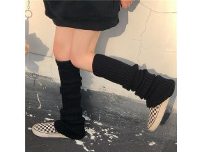 Návleky na nohy / pletené návleky na nohy TENDER