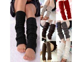 Zimní návleky na nohy / návleky na nohy LADY