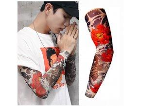 Falešné tetování / rukáv s tetováním FROG