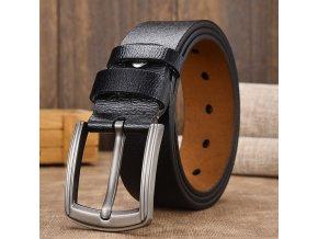 Pánský kožený pásek / pánský opasek BOOM