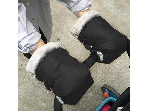 Rukávník na kočárek / zimní rukavice na kočárek BABY