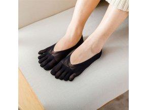 Prstové ponožky / dámské ponožky do balerín SUMMY