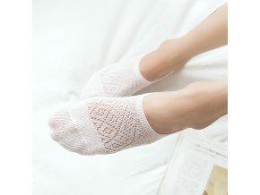 5 páru ponožky do balerín / dámské ponožky SHORT