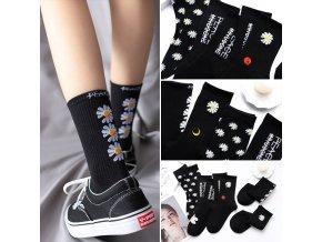 Veselé ponožky / vtipné ponožky DAISY
