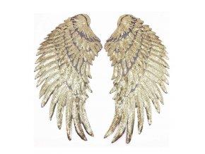 Stylové nášivky / našívací křídla / nášivky WINGS
