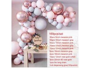 Balónkové girlandy na párty