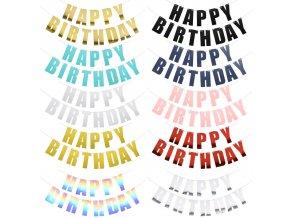 Girlandy Happy birthday