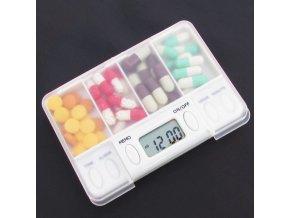 Krabička na léky s časovačem