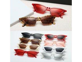 Dámské kočičí sluneční brýle / sluneční brýle cat eye SUNSHINE