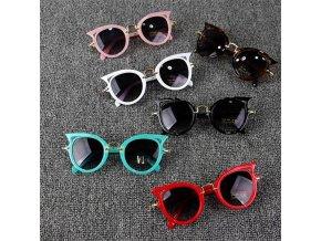 Dětské sluneční brýle / stylové sluneční brýle pro děti KITTEN