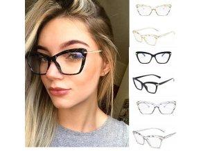Dámské brýle proti modrému světlu / ochranné brýle MODERN