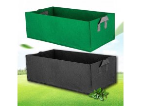 mainimage0black Fabric plant Grow Bag Garden Square gardening tools Flower Vegetable Planting Planter Pot Handles for