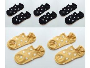 variantimage25Pais Lot Women Socks Short Cotton Aesthetic Novelty Dot Sweet Boat Socks Chaussette Femme Skarpety Kobieta