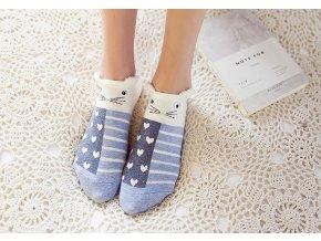 Dětské ponožky s roztomilými vzory