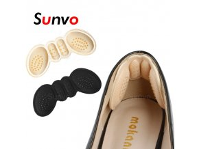 mainimage0Sunvo Women Insoles for Shoes High Heels Adjust Size Adhesive Heel Liner Grips Protector Sticker Pain (1)