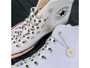 mainimage3Little Daisies Shoelaces Cartoon Printing Fashion Unisex Flat Shoe laces High top Canvas Sneakers Shoelace AF1