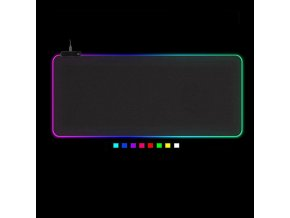 Herní podložka pod myš RGB / herní podložka Genius