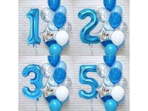 Narozeninová výzdoba / set balonků / balonky Happy Birthday