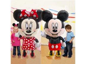 Obří balónky Mickey mouse / narozeninová výzdoba Mickey mouse