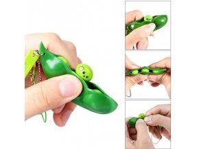 Antistresová hračka / antistresová klíčenka / přívěšek na klíče Greenie