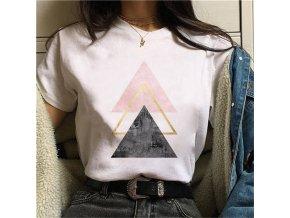 Krásná dámská trička / dámské tričko Geometry