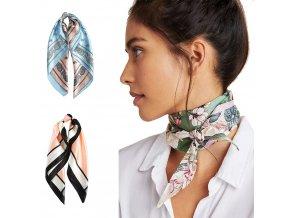 Šátek do vlasů / šátek na krk / hedvábné šátky MANDY
