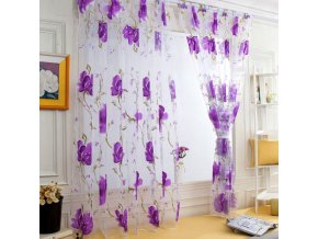 4 variant 100x130cm 1 pcs vines leaves tulle door window curtain drape panel sheer scarf valances 6colors available kitchen bedroom