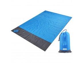 Kapesní vodotěsná deka / kapesní ručník / vodotěsná plážová deka Camping