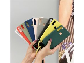 mainimage1Candy Case Crossbody Cord Lanyards Cover For Xiaomi Mi X3 nfc 10 10T Note 10 Lite