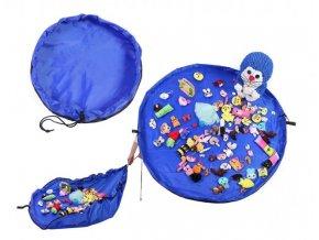2v1 Dětská hrací podložka s vakem na hračky