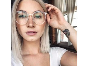 mainimage1Fashion Women Eyewear Blue Light Glasses Clear Regular Computer Gaming Glasses Comfort Anti Blue Ray Eyeglasses