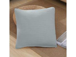 Jednobarevné povlaky na polštáře