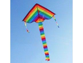 mainimage11PC New Long Tail Rainbow Kite Outdoor Kites Flying Toys Kite For Children Kids The Kite