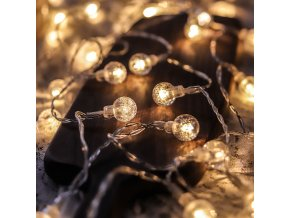 mainimage0Led String Lights Fairy Gypsophila Bubble Ball Lamp Holiday Lighting Garland Battery USB Indoor For Christmas